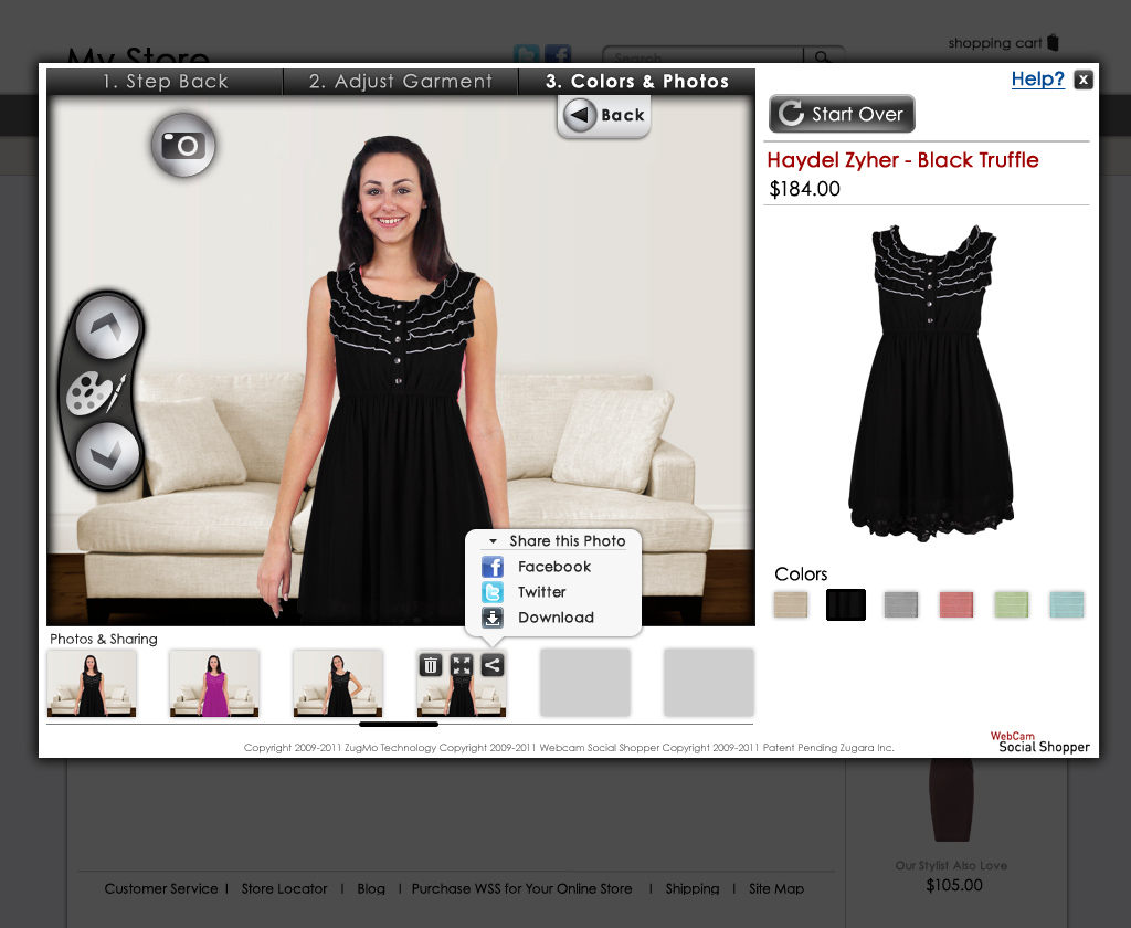 marketing in esclusiva-webcam social shopper